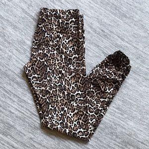 Victoria's Secret Leopard print leggings size M